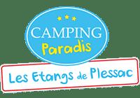 Camping Paradis Les Étangs de Plessac en Dordogne, étang de pêche, piscine couverte et chauffée