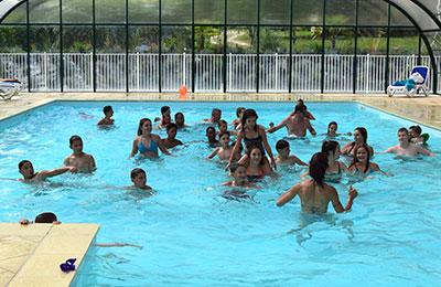 Camping Paradis avec piscine chauffée et couverte en Dordogne près de Brantôme en Périgord